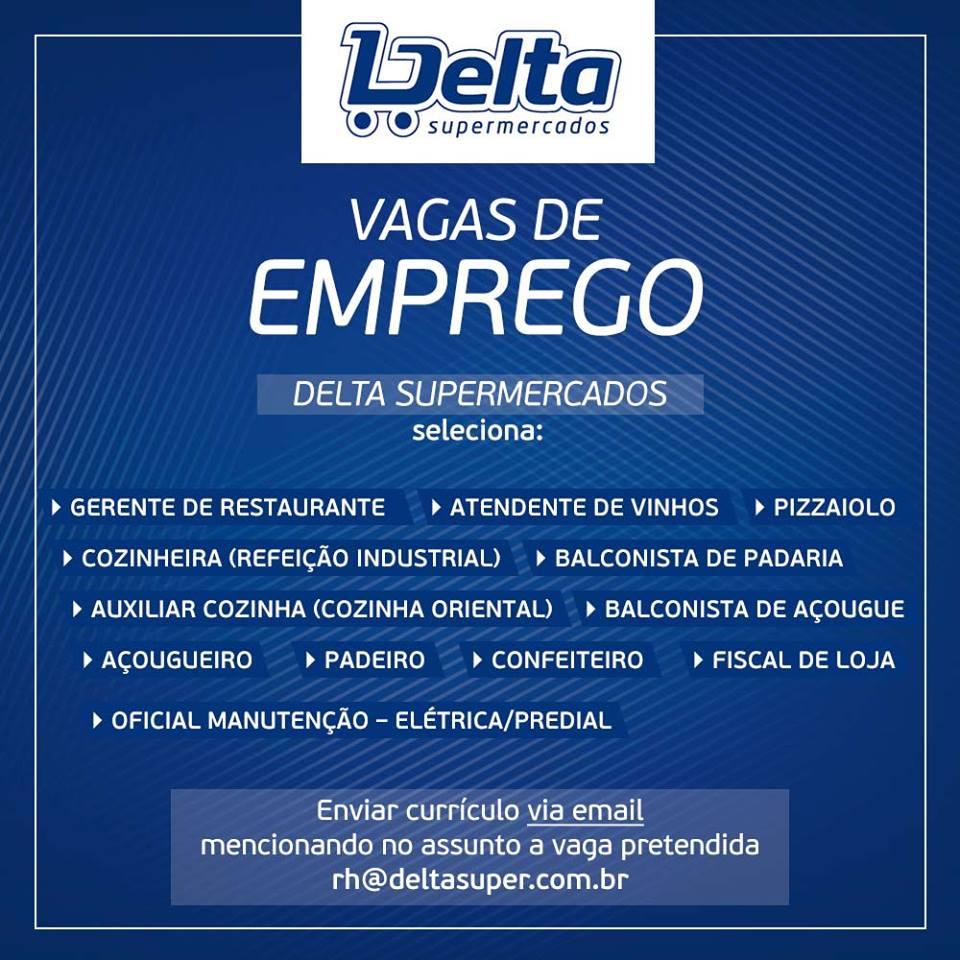 Delta Supermercados Est Com Vagas Abertas Confira Inforbusiness